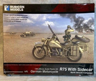 Rubicon Rubicon Models - R75 With Sidecar -North African