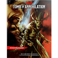 Wizards of the Coast DandD Manual - 13 Tomb of Annihilation