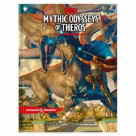 Wizards of the Coast DandD Manual - 24 Mythic Odysseys of Theros