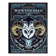 Wizards of the Coast DandD Manual - 25 Icewind Dale Rime of the Frostmaiden Alternate Cover