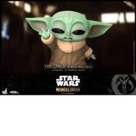 Hot Toys CosBaby - The Mandalorian The Child Force Wielding