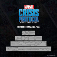 Atomic Mass Games Marvel Crisis Protocol - Movement Rulers