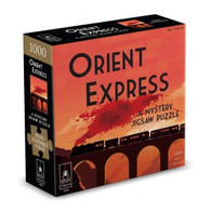 BePuzzled Murder Mystery Puzzle - The Orient Express