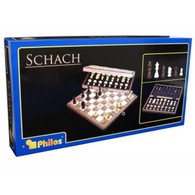 Philos Chess Set Wood 15 by Philos