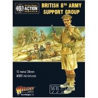 Warlord Games Bolt Action - British 8th Army Support Group