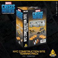 Atomic Mass Games Marvel Crisis Protocol - NYC Construction Site Terrain