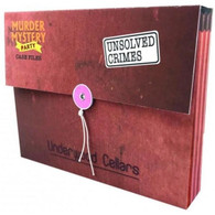 University Games Murder Mystery Case Files - Unsolved Crimes Underwood Cellars