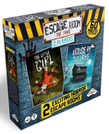 Identity Games Escape Room the Game - 2 Players The Little Girl and House by the Lake