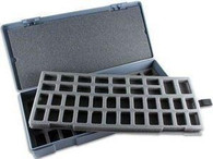Chessex Figure Storage Box L for Larger 25mm Figures 56 Figures