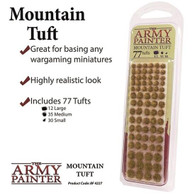 The Army Painter The Army Painter - Battlefields Mountain Tuft 77pc