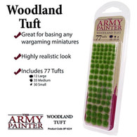 The Army Painter The Army Painter - Battlefields Woodland Tuft 77pc