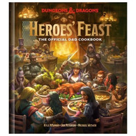 Wizards of the Coast Dungeons and Dragons - Heroes Feast - The Official DandD Cookbook