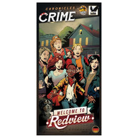 Lucky Duck Games Chronicles of Crime Expansion - Welcome to Redview Expansion