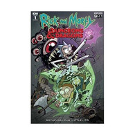IDW DandD Book - Rick and Morty VS Dungeons and Dragons