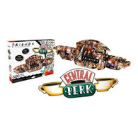 Aquarius Friends Central Perk and Collage Double Sided Puzzle 600 pieces