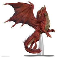Wizkids DandD Icons Of The Realms Premium Figure - Adult Red Dragon