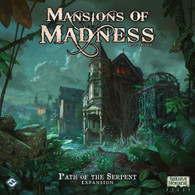 Fantasy Flight Games Mansions Of Madness Expansion - Path of the Serpent