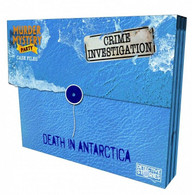 University Games Murder Mystery Case Files - Unsolved Crimes Death in Antarctica
