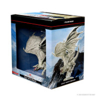 Wizkids DandD Icons Of The Realms Premium Figure - Adult White Dragon