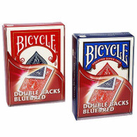 United States Playing Card Company Bicycle Double Back/Red Blue Case Playing Cards