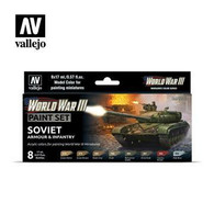 Vallejo Vallejo Model Colour 70221 - Soviet Armour and Infantry Paint Set
