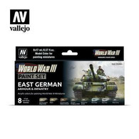 Vallejo Vallejo Model Colour 70224 - East German Armour and Infantry Paint Set