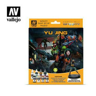 Vallejo Vallejo Infinity Yu Jing Paint Set with Exclusive Miniature 70235