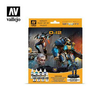 Vallejo Vallejo Infinity O-12 Paint Set with Exclusive Miniature 70239