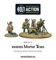 Warlord Games Bolt Action - Soviet Army 120mm Heavy Mortar Team