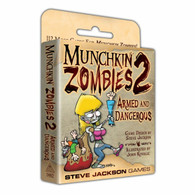 Steve Jackson Games Munchkin - Zombies 2 Armed and Dangerous