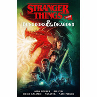 Stranger Things and Dungeons and Dragons Comic Book