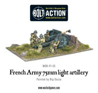 Warlord Games Bolt Action - French Army 75mm light artillery