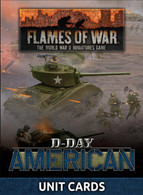 Battlefront Miniatures Flames of War Unit Cards - D-Day American