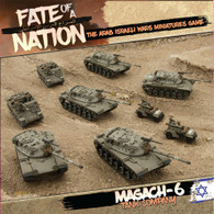Battlefront Miniatures Fate of a Nation - Israeli Magach-6 Tank Company Army Deal