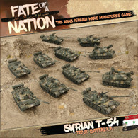Battlefront Miniatures Fate of a Nation - Syrian T-54 Tank Battalion Army Deal