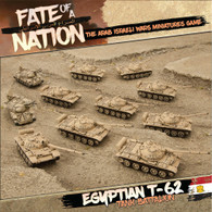Battlefront Miniatures Fate of a Nation - Egyptian T-62 Tank Battalion Army Deal