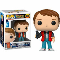 Funko Pop - Back to the Future Marty in Puffy Vest