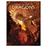 Wizards of the Coast DandD Fizbans Treasury of Dragons Alternate Cover