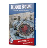 Games Workshop Blood Bowl Pitch - Shambling Undead Pitch and Dugouts