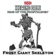 GaleForce Nine DandD Icewind Dale Rime of the Frostmaiden - Frost Giant Skeleton