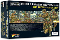 Warlord Games Bolt Action - British and Canadian Army 1943-45 Starter Army