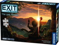 Kosmos Exit the Game - The Sacred Temple Jigsaw Puzzle and Game
