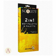 Scale 75 Scale 75 Accessories - 2 in 1 Wet Palette and Palette