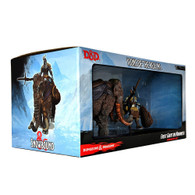 D&D Icons Of The Realms (Premium Set) - Snowbound Frost Giant and Mammoth