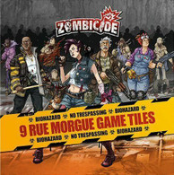 CMON Zombicide - 9 Rue Morgue Double Sided Game Tiles