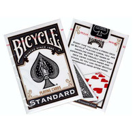 United States Playing Card Company Bicycle - Rider Back Black