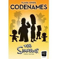 USAopoly Codenames - The Simpsons