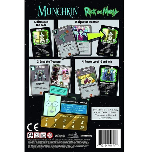 Steve Jackson Games Munchkin - Rick and Morty