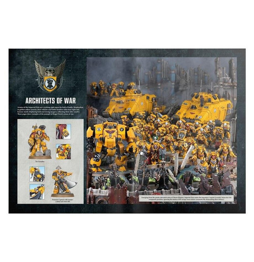 Games Workshop 40K Codex Supplement - Imperial Fists