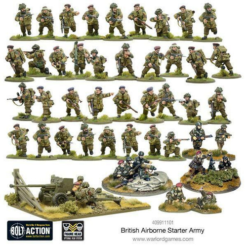Warlord Games Bolt Action - British Airborne Starter Army